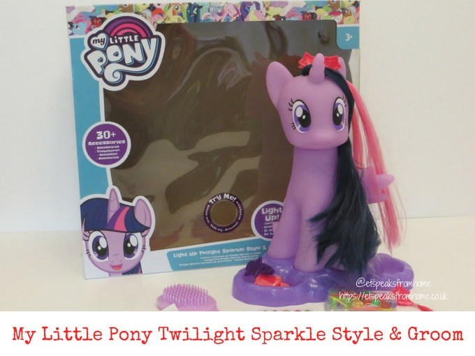 My Little Pony Twilight Sparkle Style & Groom review