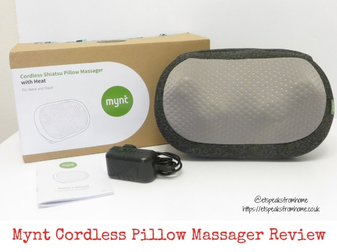 Mynt Cordless Pillow Massager Review