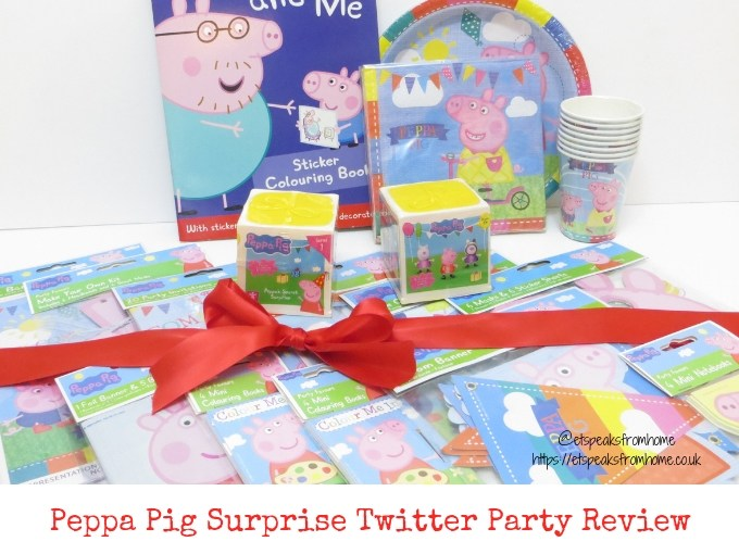 Peppa Surprise Twitter Party