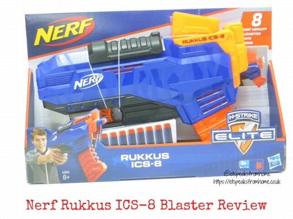 Nerf N-Strike Elite Rukkus ICS-8 Blaster Review