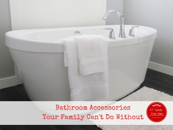 Crazy-Good Bathroom Accessories Your Family Can't Do Without