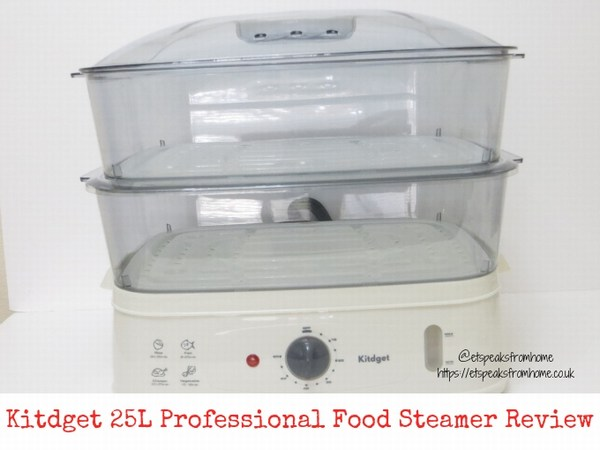 Kitdget 25L Professional Food Steamer Review