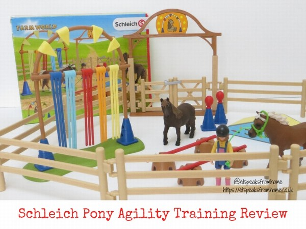 Schleich Pony Agility Training Review