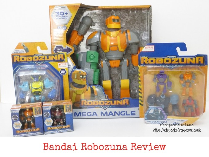 Bandai Robozuna review