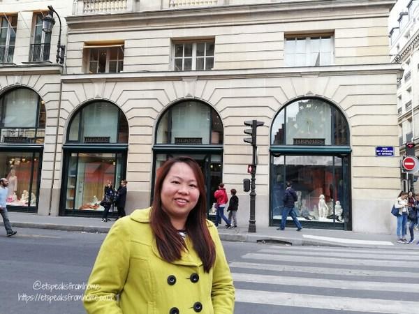 Birthday Weekend in Paris with Hotter Shoes paris hermes