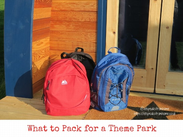 What to Pack for a Theme Park