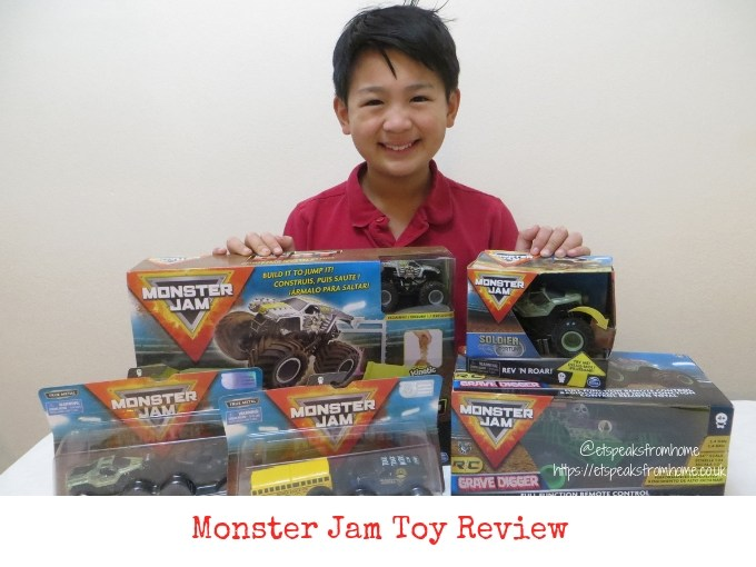 monster jam toy review