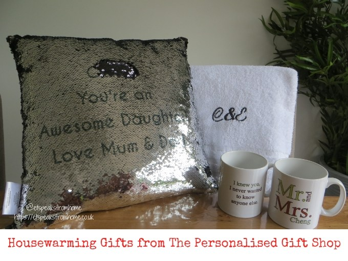 Housewarming Gifts from The Personalised Gift Shop
