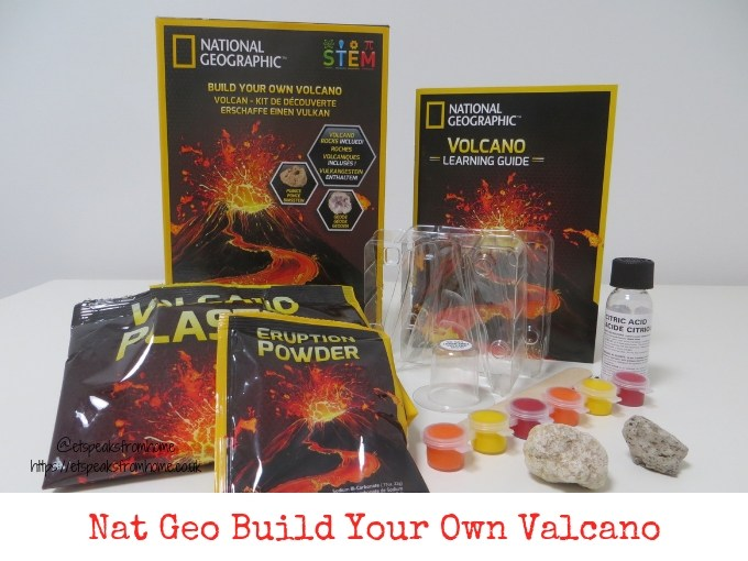 national geographic build your own volcano review