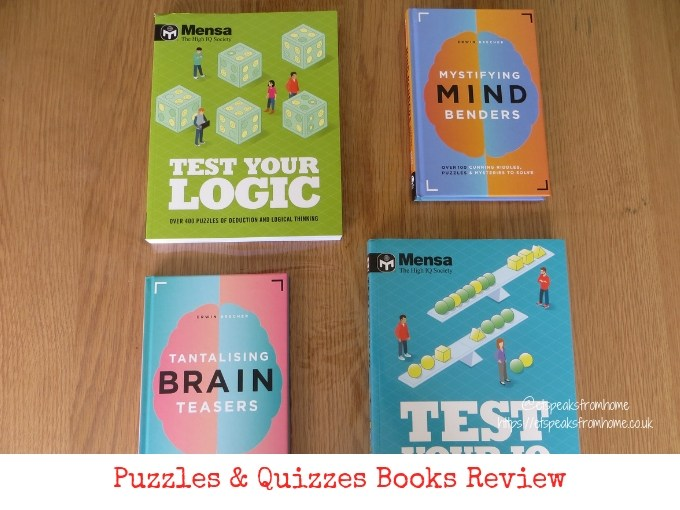 Carlton Books Puzzles & Quizzes Books Review
