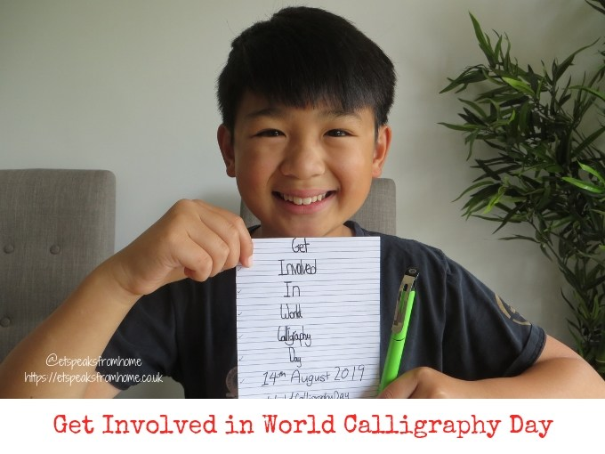 Get Involved in World Calligraphy Day