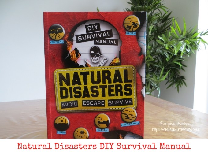 Natural Disasters DIY Survival Manual review & giveaway