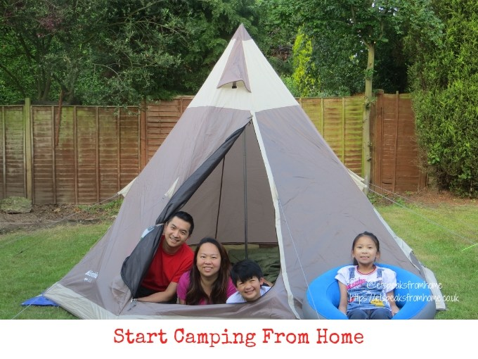 Start Camping From Home