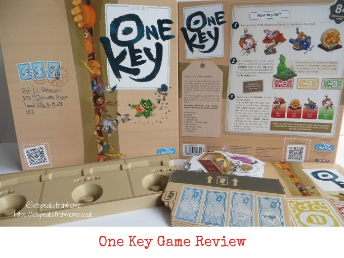 One Key Game Review
