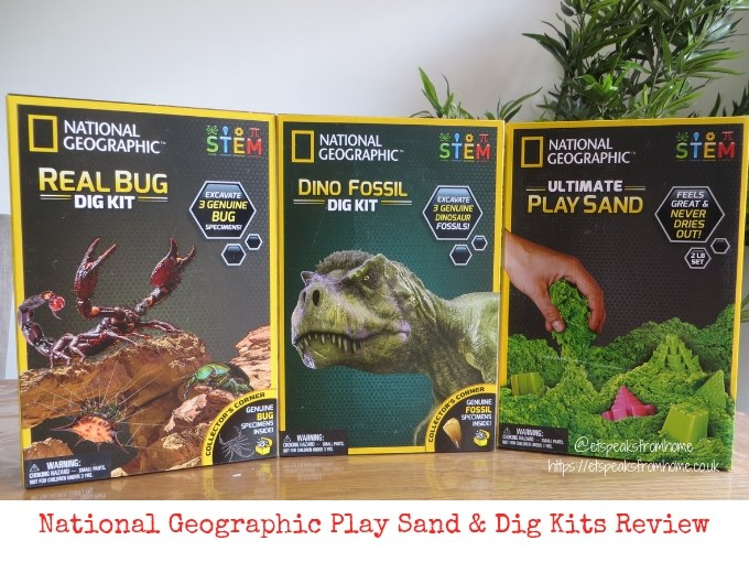 National Geographic Play Sand & Dig Kits Review