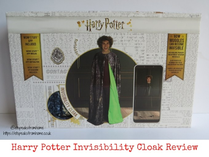 Harry Potter Invisibility Cloak Review