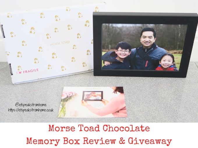 Morse Toad Chocolate Memory Box Review & Giveaway
