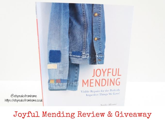 Joyful Mending Review & Giveaway