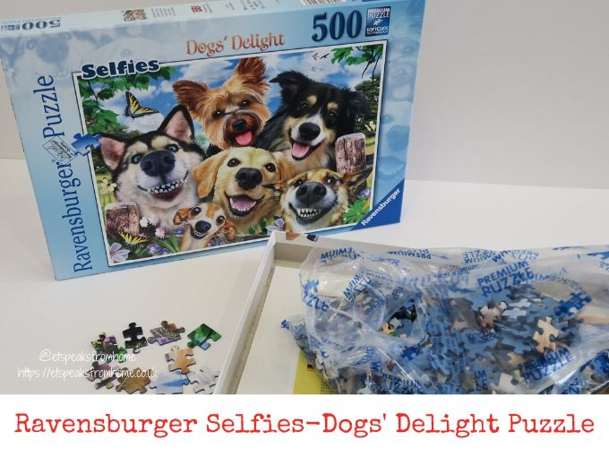 Ravensburger Selfies-Dogs' Delight Puzzle