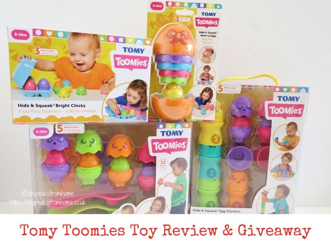 TOMY Toomies Toys Review & Giveaway