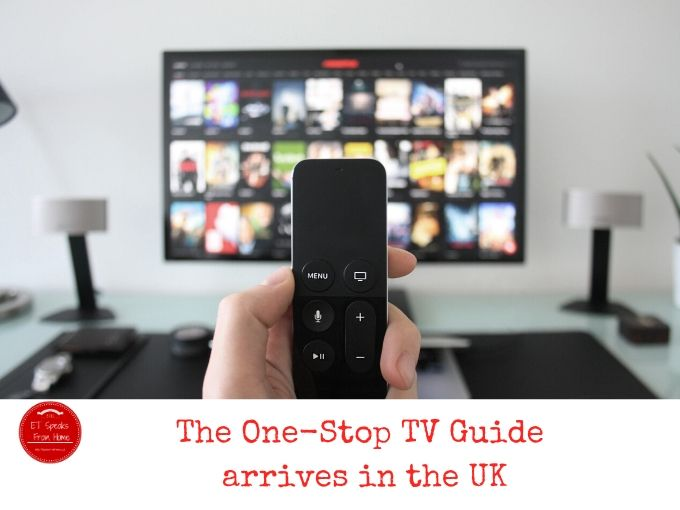The One-Stop TV Guide arrives in the UK