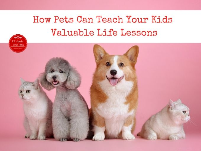 How Pets Can Teach Your Kids Valuable Life Lessons