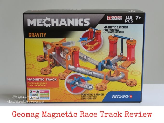 Geomag magnetic race Track Review