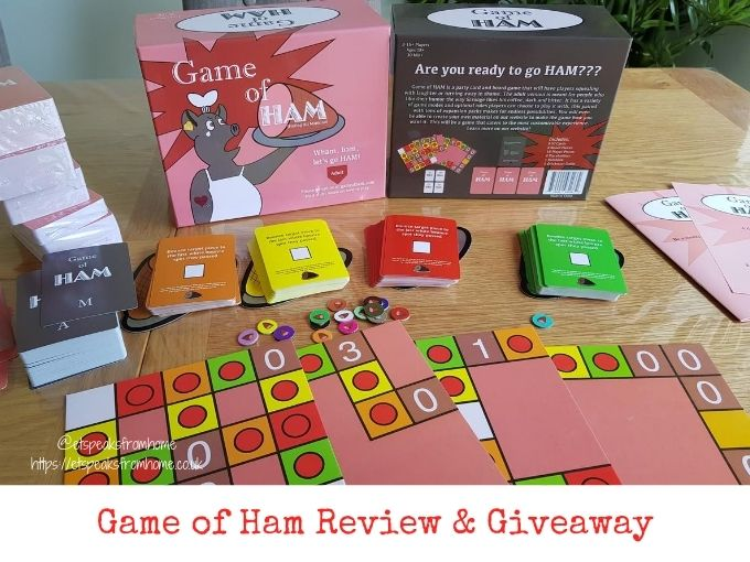 Game of HAM review & giveaway