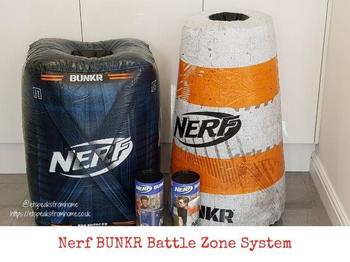 Nerf BUNKR Battle Zone System