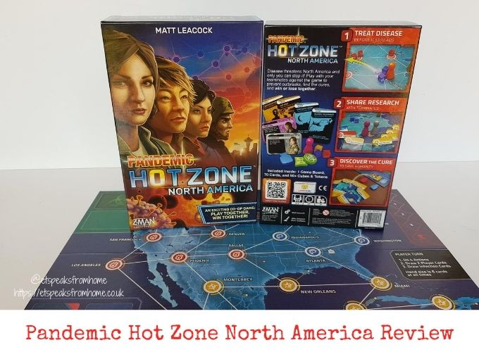 pandemic hot zone north america review