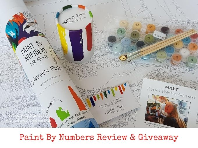 winnie's picks paint by numbers review and giveaway
