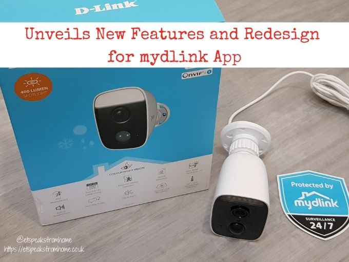 Unveils New Features and Redesign for mydlink App