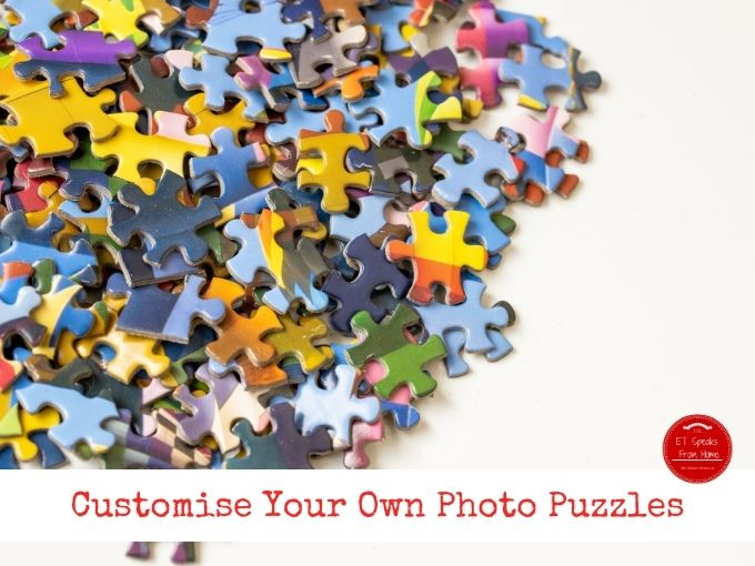Customise Your Own Photo Puzzles