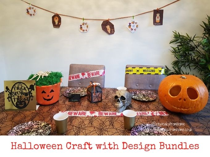 Halloween Craft with Design Bundles
