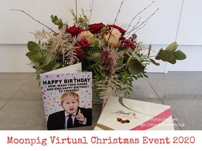 Moonpig Virtual Christmas Event 2020