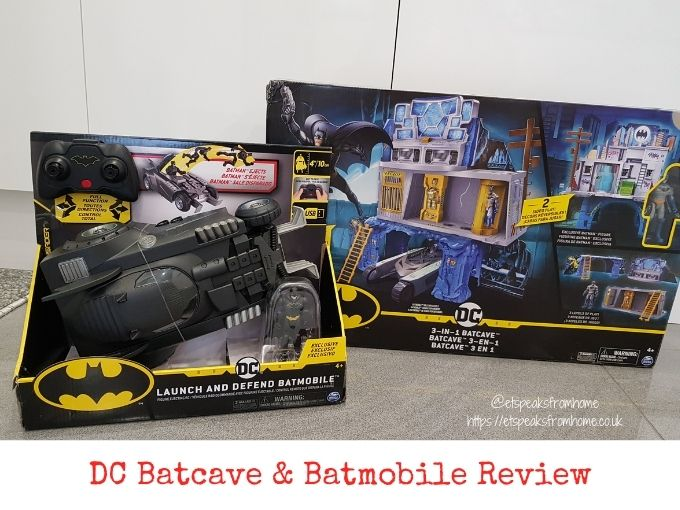 DC Batman 3-in-1 Batcave and batmobile