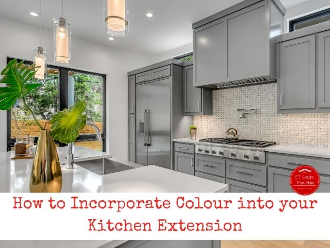 How to Incorporate Colour into your Kitchen Extension