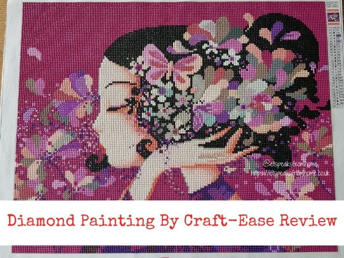 Diamond Painting By Craft-Ease floralie kit