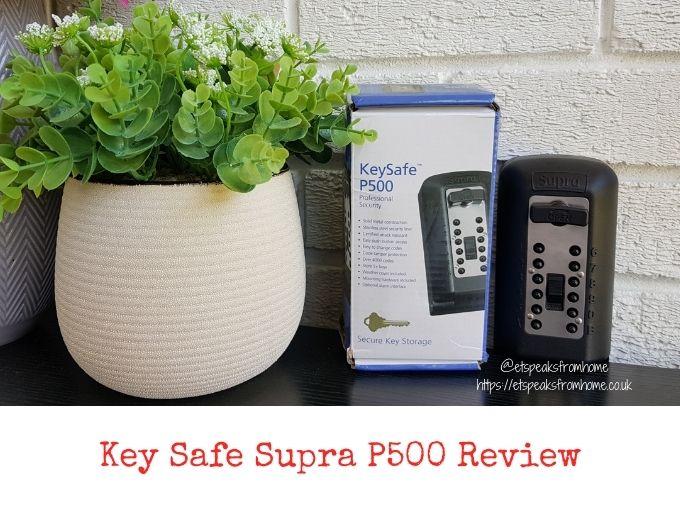 Key Safe Supra P500 Review