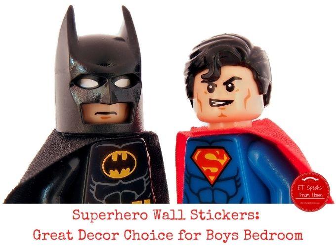 Superhero Wall Stickers: Great Decor Choice for Boys Bedroom
