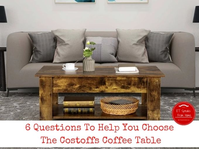6 Questions To Help You Choose The Costoffs Coffee Table photo