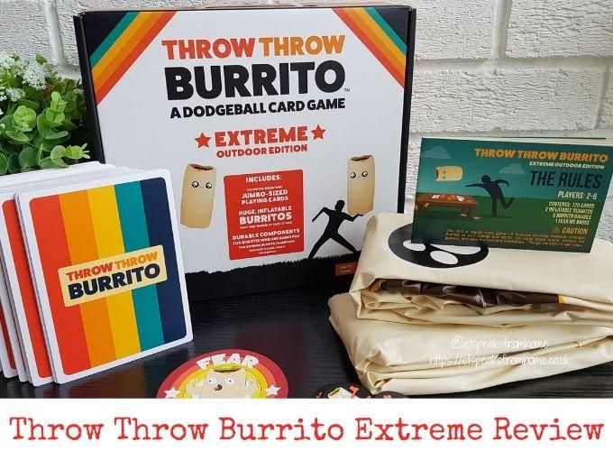 Throw Throw Burrito Extreme review