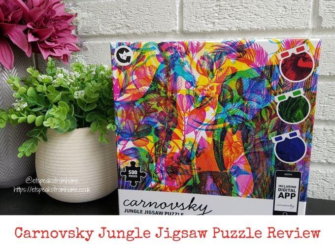 Carnovsky Jungle Jigsaw Puzzle Review
