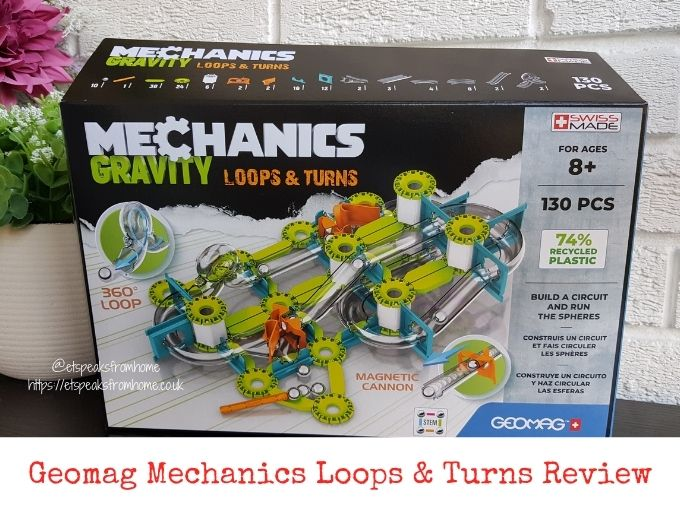 Geomag Mechanics Loops & Turns Review
