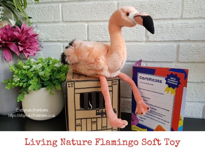 Living Nature Flamingo Soft Toy review